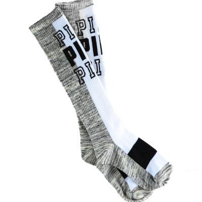 96398a3165 Victoria S Secret Pink Grey Marl White Knee High Socks Size 5 9