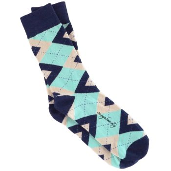 men_dress_socks_argyle_socks_mint_navy_blue_beige_3