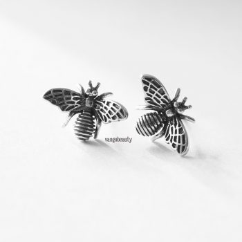 sterling_silver_bees_happy_stud_earrings-1