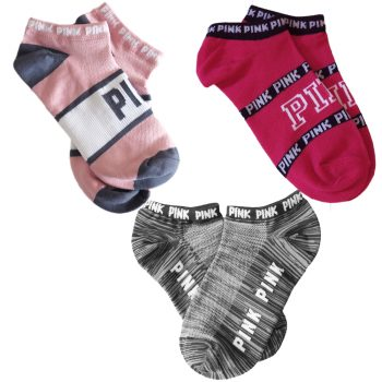 victoria_secret_pink_no_show_socks_set_magenta_pink_grey