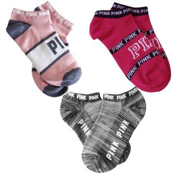 victoria_secret_pink_no_show_socks_set_magenta_pink_grey