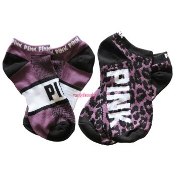 victoria's_secret_pink_ultimate_no_show_socks_animal_print_socks_1