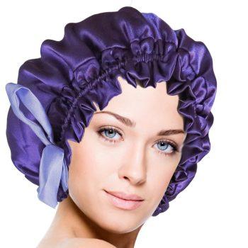silk-cap-silk-bonnet-royal-purple-vangobeauty-2