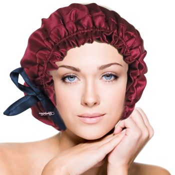 sleep-bonnet-sleep-cap-sexy-red-silk-bonnet-vangobeauty-2