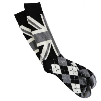 Men_socks_British-Flag_UK_flag-Grey_black-1