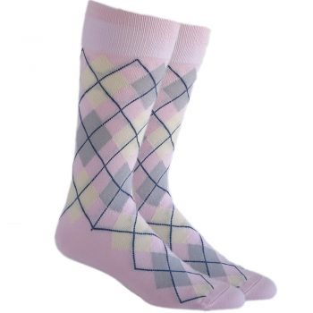 men-dress-socks_wedding_socks_pink_grey_white-4