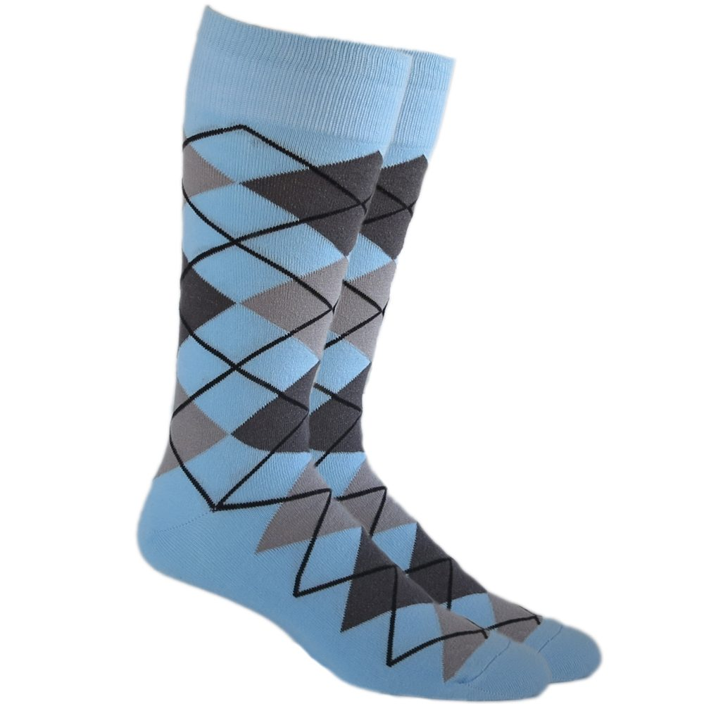 Cotton Blend Argyle Pattern Over The Knee Socks|3 Colours|Fashion Socks