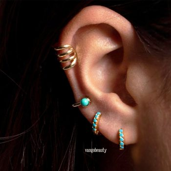 Gold_turquoise_blue_hoop_earrings_1